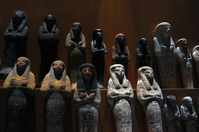 The Ushabti - Magical Workers