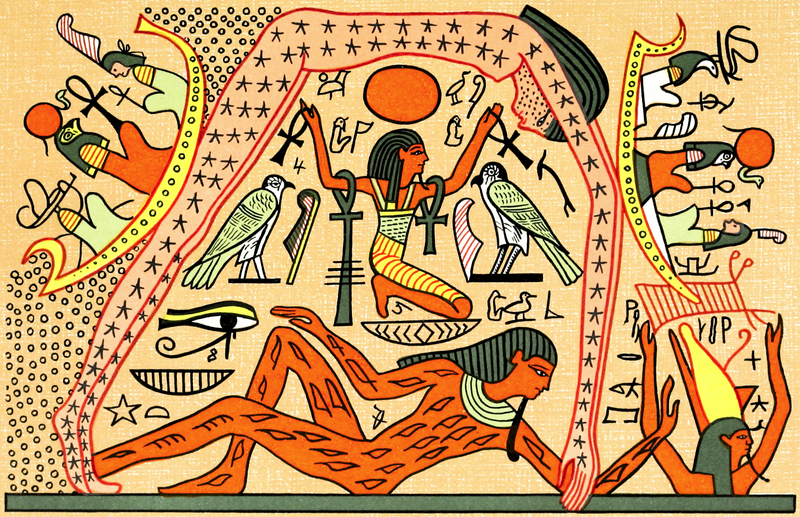 an overview of the egyptian creation stories in mythology This web site was completed for a high school latin course the asssignment  was to explore some asset of classical culture and compare it to another culture, .